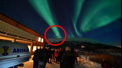 VIDEO: la aurora boreal y la conjunción de Venus y Júpiter se vieron al mismo tiempo