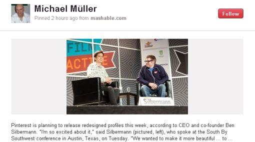 Pinterest se rebela contra la inmediatez de las redes sociales