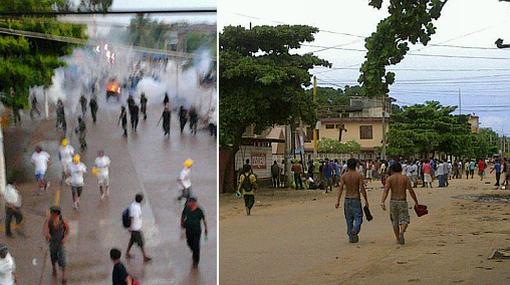 Un muerto deja protesta de mineros ilegales en Madre Dios
