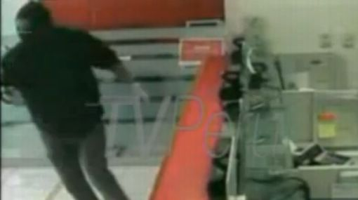 VIDEO: así fue el asalto que dejó un policía muerto en el Banco de la Nación