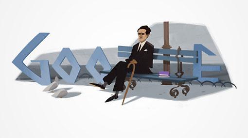 Google dedica 'doodle' por 120 años de César Vallejo