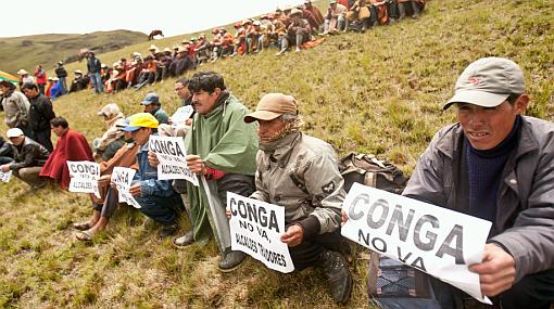 Colaboradores de Yanacocha fueron retenidos ilegalmente por supuesta campaña a favor de Conga