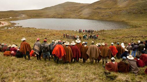 Campesinos liberaron a colaboradores de Yanacocha retenidos ilegalmente