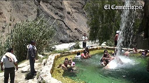 Churín y sus baños termales: un paraje que ofrece salud y relax