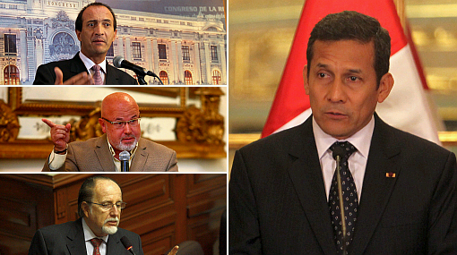 """Oposición exhortó al presidente Humala a dejar """"la política del avestruz"""""""