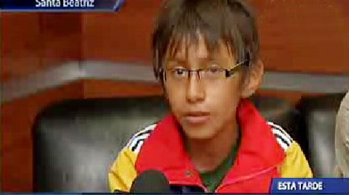 Niño chimbotano de 11 años ingresó a la Universidad San Marcos
