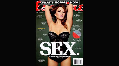 """Sofía Vergara posó más sensual que nunca para la revista """"Esquire"""""""