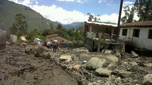 Áncash: cuatro comunidades quedaron aisladas tras desborde de laguna