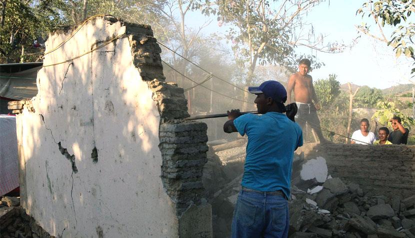 FOTOS: así quedó Ometepec, la ciudad que fue epicentro del sismo en México