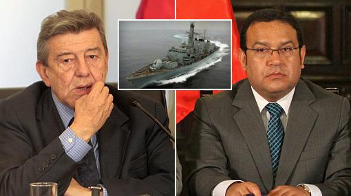 Ministros explicaron en el Congreso lo sucedido con fragata británica