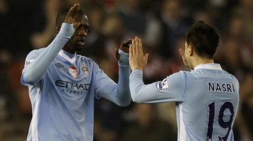 Manchester City empató 1-1 y es líder provisional de la Premier League