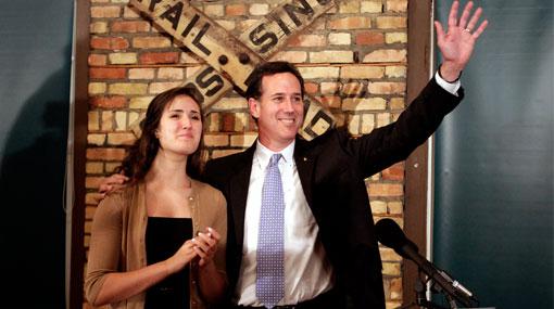 Santorum ganó a Romney las primarias en la conservadora Luisiana