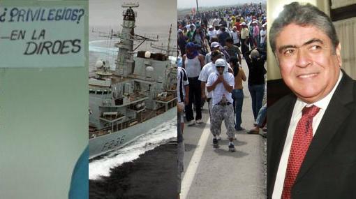 La semana en la política: la fragata británica y la formalización de la minería informal