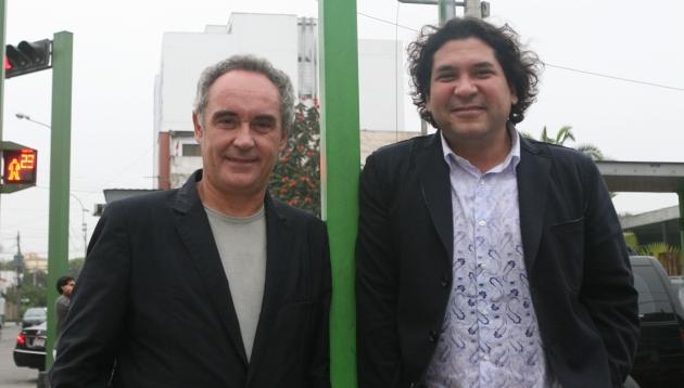 Ferran Adrià y Gastón Acurio promocionarán nuestra gastronomía en España