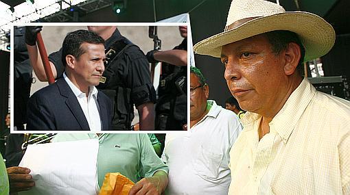 """""""Presidente Humala está contaminado por las mineras"""", afirmó Marco Arana"""
