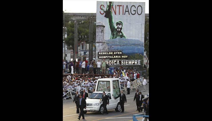 FOTOS: el Papa se dio un baño de multitud en su visita a Cuba