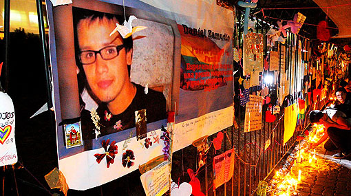 Murió Daniel Zamudio, joven chileno brutalmente golpeado por ser gay