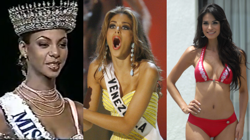 Entre fotos sexuales y delitos: las reinas de belleza más polémicas