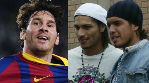Guerrero y Vargas jugarían con Lionel Messi en partido benéfico