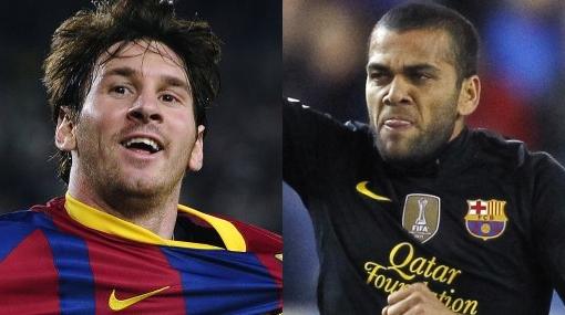 "Dani Alves: ""El único problema de Messi es ser argentino"""