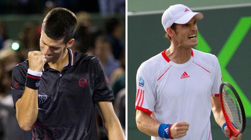 Djokovic ganó y enfrentará a Murray en la final del torneo de Miami
