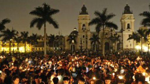 El Perú se unió a La Hora del Planeta
