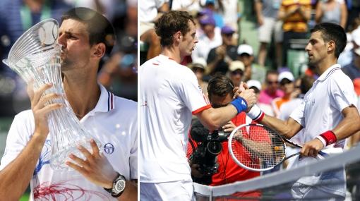 Djokovic se coronó campeón del Masters 1000 de Miami