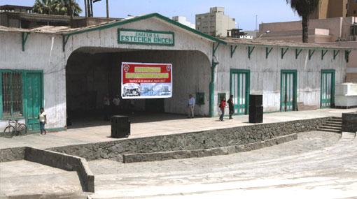 La antigua estación de Ancón será recuperada para festival y turismo