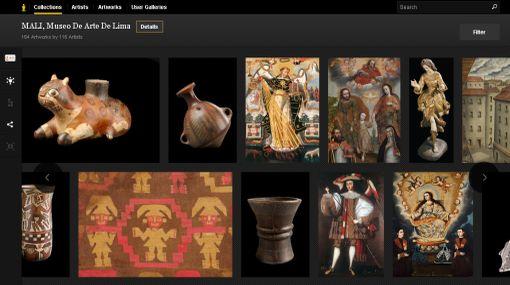 A solo un clic: más de 160 obras del MALI pueden verse en todo el mundo