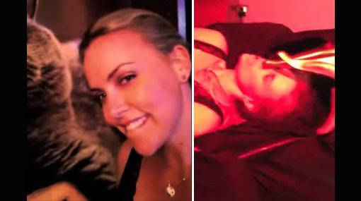 Charlize Theron se burla de estrellas 'hackeadas' en un video