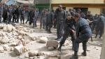 Paro en La Oroya: manifestantes se enfrentaron a la Policía - Noticias de jesus obrero