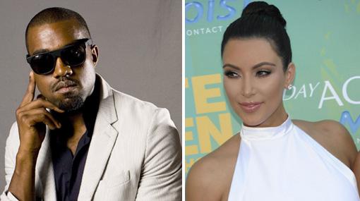 Kim Kardashian presentó a su nuevo novio: el rapero Kanye West