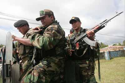 Policías y militares se movilizan a Cajamarca ante posibles protestas