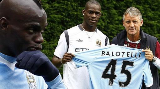 Balotelli pidió perdón al Manchester City y al DT Mancini