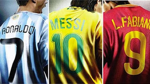 ¿Messi se puso la '10' de Brasil?