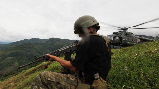 Ataque narcoterrorista en Kepashiato deja un suboficial del Ejército muerto