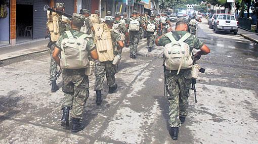 Alcaldesa de La Convención pidió una base militar-policial en Kepashiato