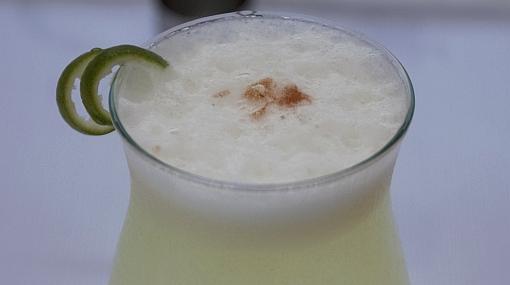 El pisco sour está entre los cinco cocteles más prestigiosos del mundo