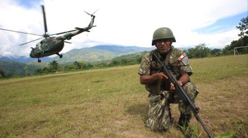 Una incursión militar entorpecería negociación de empresas con terroristas en el VRAE, opina experto