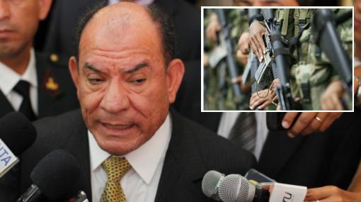 Lozada sostuvo que negociar con terroristas sería un gesto de debilidad del Gobierno