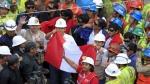 Los mineros atrapados en socavón en Ica fueron rescatados - Noticias de julio sarmiento
