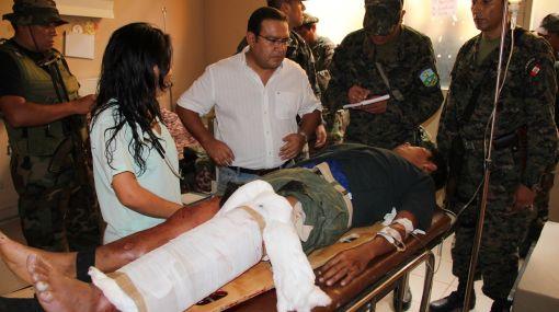 Ataque en el VRAE: dos oficiales heridos llegaron a Lima