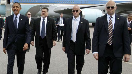 Agentes de seguridad de Obama separados por escándalo sexual