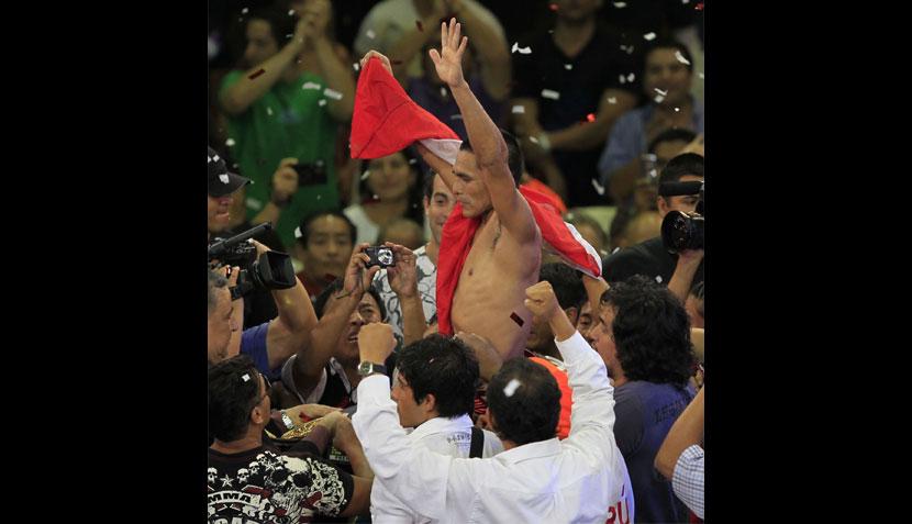 FOTOS: la emoción de 'Chiquito' Rossel tras obtener el título mundial