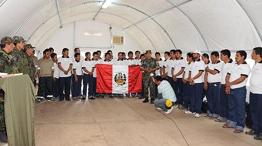 Militares heridos en búsqueda de rehenes reciben atención médica en Lima