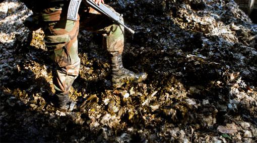 Narcoterroristas 'sembraron' minas para huir de militares en el VRAE