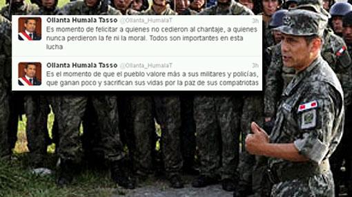 """Humala: """"Es momento de felicitar a quienes no cedieron al chantaje"""""""