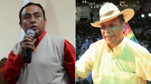 """Ex alcalde de Cajamarca: """"Santos y Arana en su vida han plantado algo"""""""