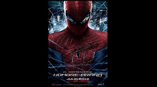 """Este es el póster oficial del esperado filme """"The amazing Spiderman"""""""