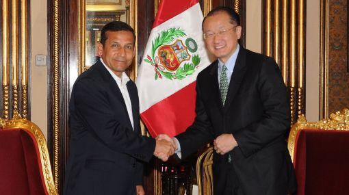 Presidente Humala se reunió con electo titular del Banco Mundial